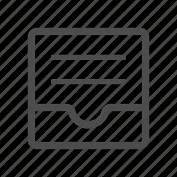 full, inbox icon