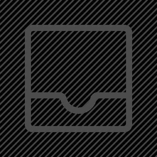 empty, inbox icon