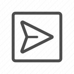 mail, outbox, send, sent icon