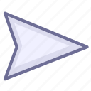 delivery, mail, send icon