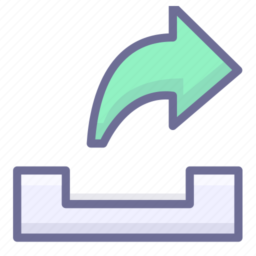 email, letter, mail, outbox, sent icon