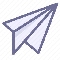 contact, delivery, send icon