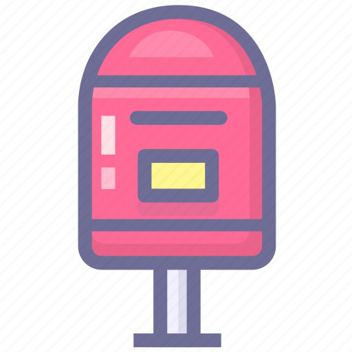 contact, emailbox, letter, mailbox icon
