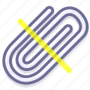 attach, attachment, paperclip icon