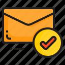check, email, envelope, letter, message
