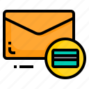 creditcard, email, envelope, letter, message