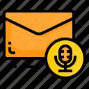 email, envelope, letter, message, sound