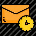 email, envelope, letter, message, time