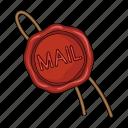 mail, protection, seal, sealing wax
