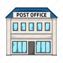 building, department, house, mail, office