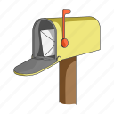 container, equipment, mail, mailbox, correspondence