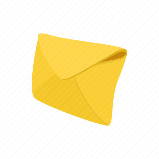 blank, cartoon, envelope, letter, mail, message, paper icon