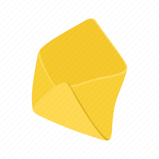 blank, cartoon, envelope, letter, mail, message, open icon