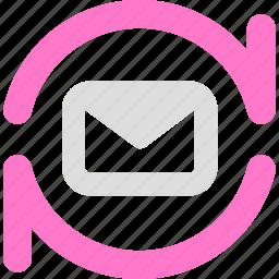 email, imap, pop3, sync icon
