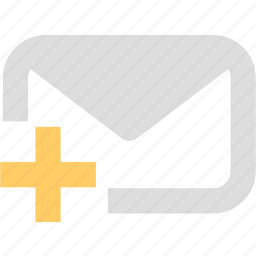 compose, contact, email, letter, subscription, support icon