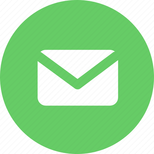 attachment, contact, email, letter, message, subscription, support icon