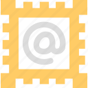 email, mail, message, postage stamp icon