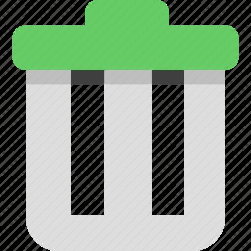 delete, email, remove, trash icon