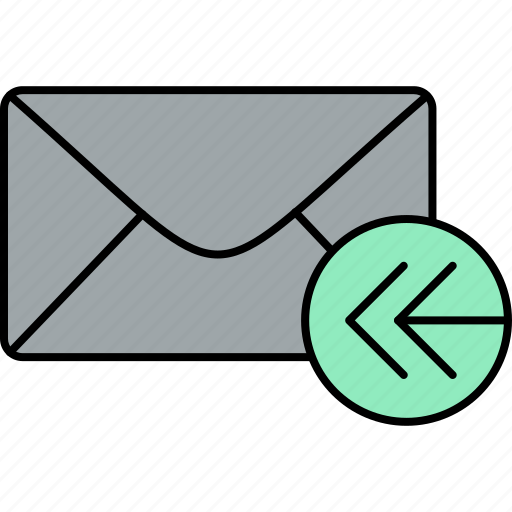 email, envelope, inbox, letter, mail, message, received icon