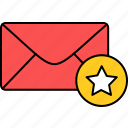 email, envelope, important, inbox, letter, mail, message icon