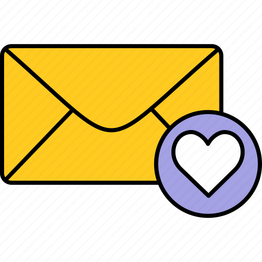 email, envelope, inbox, letter, love, mail, message icon