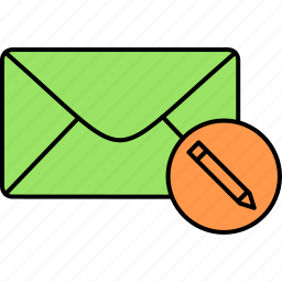draft, email, envelope, inbox, letter, mail, message icon