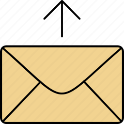 email, envelope, forward, letter, mail, message, send icon
