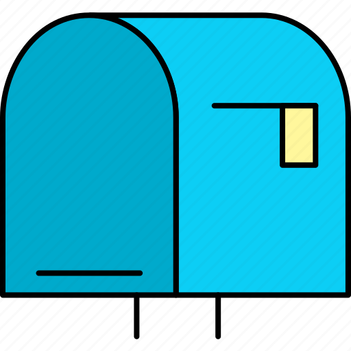 box, inbox, letter, mail, mailbox, post, post box icon