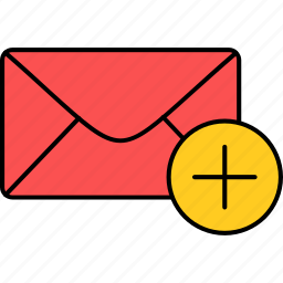 email, envelope, inbox, letter, mail, message, unread icon