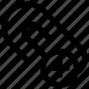 clip, document clip add, paper clip, paperclip icon icon