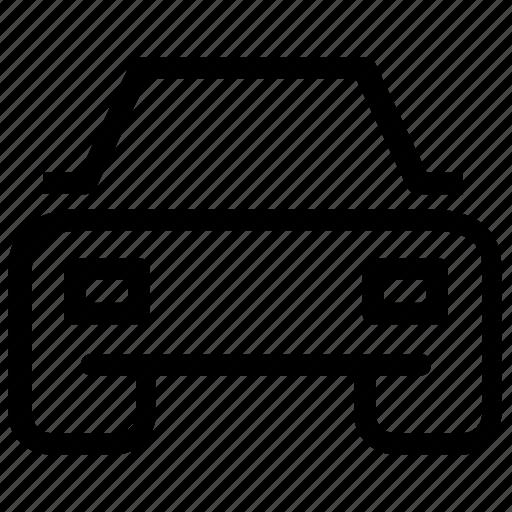 automobile, car, transportation icon