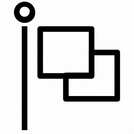 destination, flag, location icon