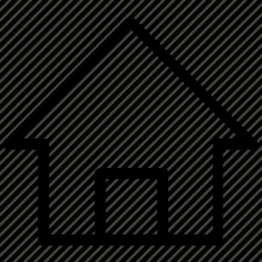 building, estate, home, house icon