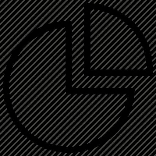 analytic, chart, pie, statistics icon