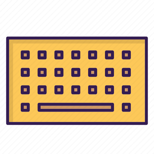computer component, keyboard icon