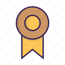 award, badge, medal, prize, reward, seal icon