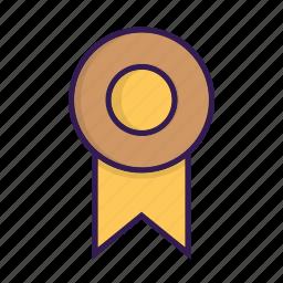 award, badge, medal, prize, reward, seal icon