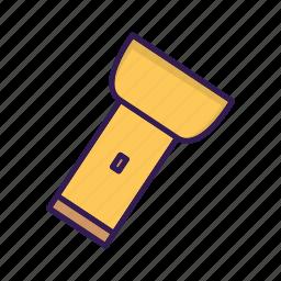device, flashlight, lamp, light icon