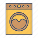 clothes, machine, washer, washing icon