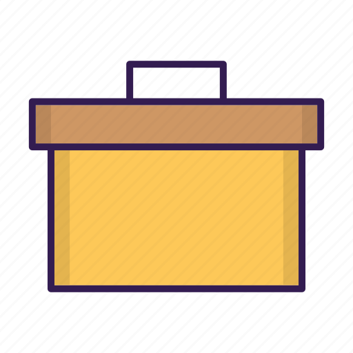 archive, box, document, email, file, mail, storage icon
