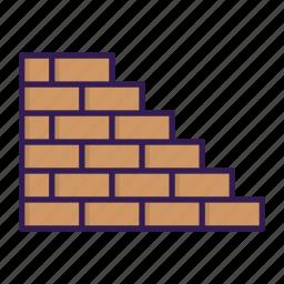 brick, build, mason, wall icon