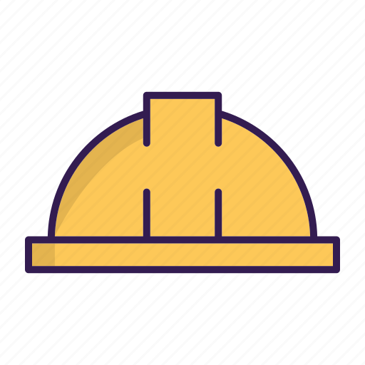 construction hard hat, construction hat icon