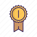 achievement, award, awards, badge, best icon