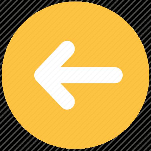 Arrow, left, left arrow, left icon icon - Download on Iconfinder