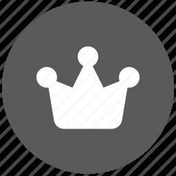 crown, diadema, main, moderator icon