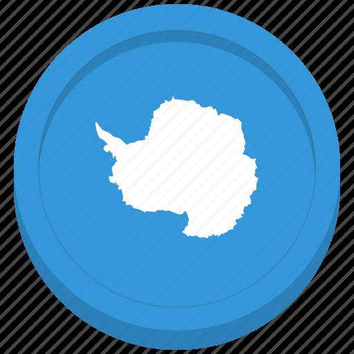 antarctic, antarctica, flag, south pole icon