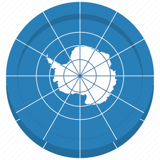 antarctic, antarctica, flag, treaty icon