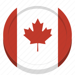 canada, canadian, country, flag icon