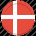 denmark, flag, country, danish