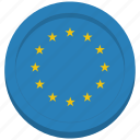 eu, european, flag, union icon